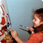 Mandy painting