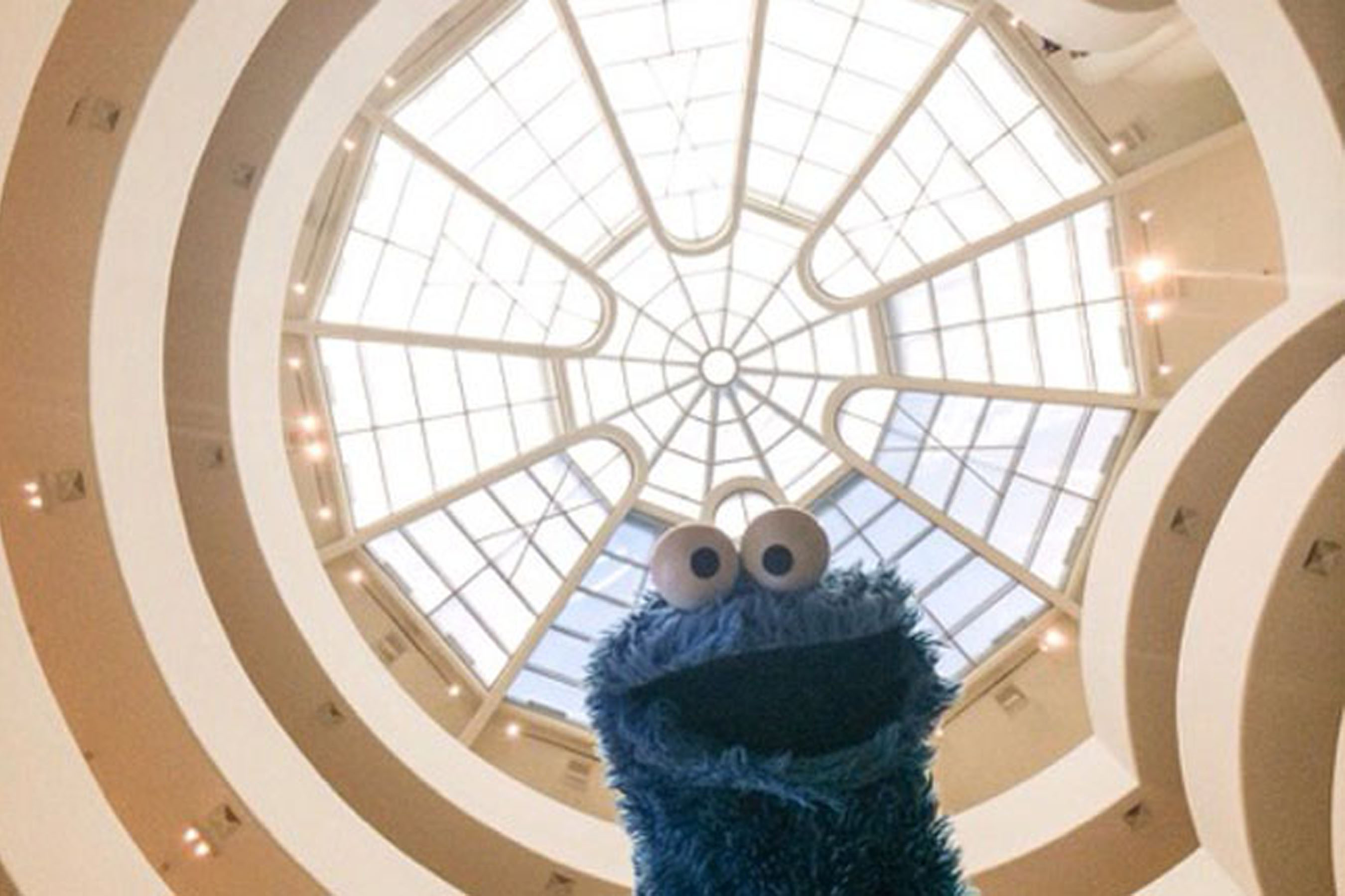 Vincent Van Dough, Cookie Monster, and the Museum of Modern Cookie